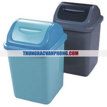 Thùng đựng rác nhựa nắp lật AF07024