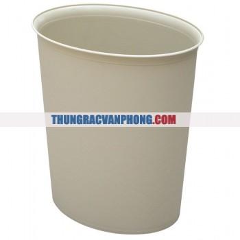 Thùng đựng rác chống cháy hình bầu dục  TBYAF07010– TBYAF07012