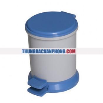 Thùng rác nhựa có đạp chân AF07022