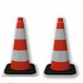Cọc giao thông đế đen - E11A0101