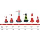 Cọc giao thông nhựa PE