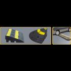 Tấm kê vỉa hè phản quang màu vàng - E11A1101