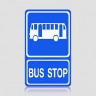 Biển báo điểm dừng xe bus