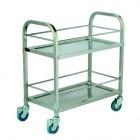 Xe đẩy phục vụ bàn bằng inox TCBD014C