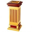 Thùng rác gỗ có khay gạt tàn thuốc lá cao cấp TLJA5B
