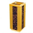 Thùng rác gỗ có khay gạt tàn thuốc khách sạn TLJA71
