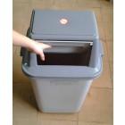 Thùng đựng rác nhựa duy tân nắp đẩy 60L DTH162