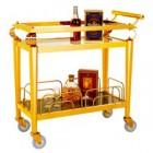 Xe phục vụ rượu inox vàng WY-47